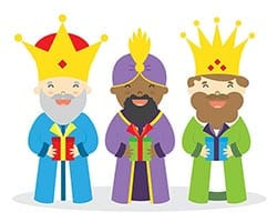 three kings presentation